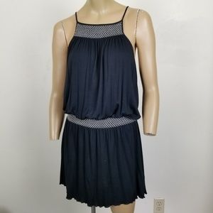 Soft Joie Dhara Mini Dress Navy Spaghetti Strap